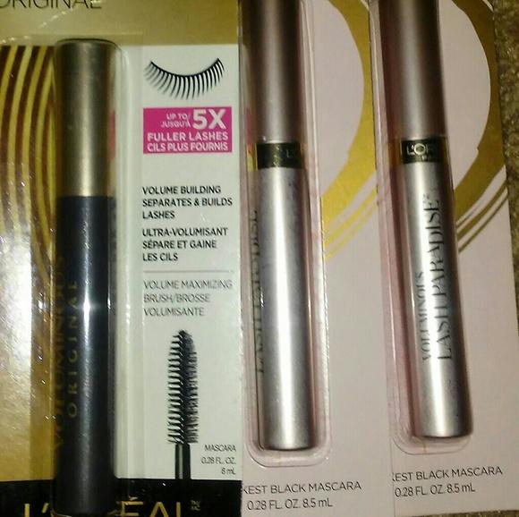 ed607d94416 L'Oreal Makeup | Set Of 3 Loreal Paris Mascara | Poshmark